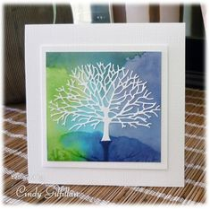 Branching Out Tree by Cindy Gilfillan by frenziedstamper - Cards and Paper Crafts at Splitcoaststampers