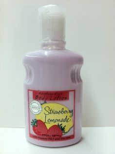 Bath & Body Works Strawberry Lemonade Body Lotion
