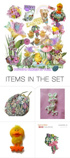 Happy Easter...Happy Spring! by popcornvintagebytann on Polyvore featuring art and vintage