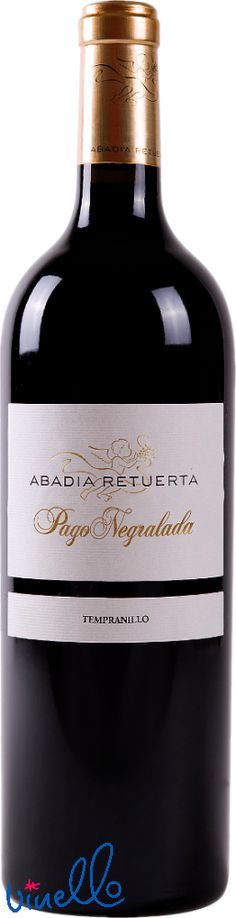 Smooth red wine Tempranillo from Spain - Abadia Retuerta