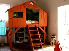kid bed... its a chicken coop. :)