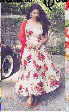 Very pretty and simple anarkali