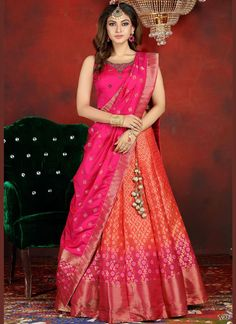 Indian designer pink lehenga choli for wedding outfits For order whatsapp us on wedding outfits wedding dress wedding dresses lengha lehnga sabyasachi manish malhotra Party Wear Indian Dresses, Designer Party Wear Dresses, Indian Bridal Outfits, Party Wear Lehenga, Indian Fashion Dresses, Dress Indian Style, Indian Gowns Dresses, Party Wear Sarees Online, Wedding Outfits