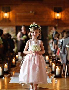 5 tendances adorables pour la robe de cortège fille