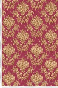 Versailles rouge - Collection Château 5 d'AS Création