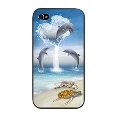 Dolphin iPhone Cases | iPhone 5, 4S, 4, & 3 Cases