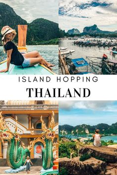 Island hopping from Phuket, to Krabi and then Phi Phi. All you must know before you go and what to expect. South African Holidays, Krabi, Beautiful Islands, Thailand Travel, Phuket, Explore, Thailand Destinations, Exploring