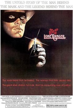 The Legend Of The Lone Ranger - 1981 - Movie Poster