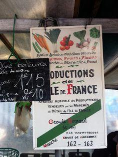 Marché Cours de Vincennes, 75012