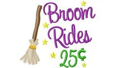 Designs :: Occasions :: Halloween :: Broom Rides