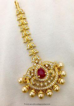 Bridal Maang Tikka Design with Price