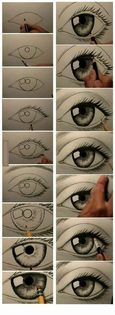 how to draw eyes ...in case you didn't know.
