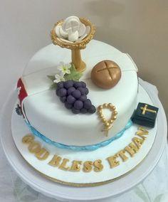 communion cake 18.4.16, choc mud cake, marzipan fondant...bread grapes bible of marzipan