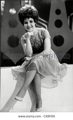 American Singer Brenda Lee Brenda Mae Tarpley Stock Photo