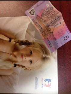 More money raised for Aussie charities. This time Heart Kids. Thanks Sharon!!!