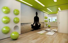 Yama And Niyama: The Foundation Stones Of Yoga iyengar yoga poses Yoga Studio Design, Yoga Studio Interior, Gym Interior, Gym Design, Iyengar Yoga, Sala Fitness, Fitness Studio, Sport Studio, Gym Center