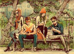 Jean, Scott, Lorna, Alex
