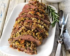 Making this for dinner tonight... Herb Crusted Lamb
