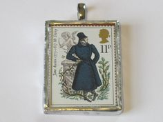 Mr. Darcy Stamp Pendant