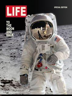 Life Magazine - Life To The Moon And Back Magazine Cover Life Magazine, Magazine Photos, Apollo 11, Programa Apollo, Lion Noir, Foto Picture, Apollo Space Program, Magazin Covers, Life Cover