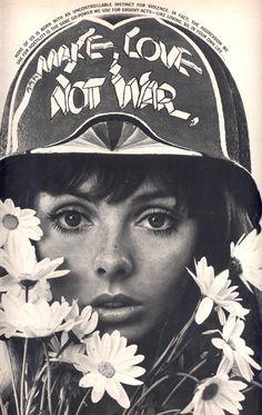 Make love, not war #peace #vietnam #sixties
