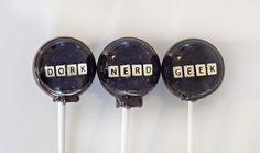 Dork, Nerd, & Geek Lollipops