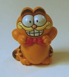 Vintage Garfield with Bow Tie