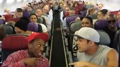 'Lion King' cast sings 'Circle of Life' aboard plane