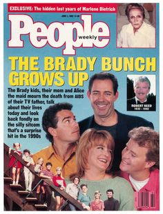 Brady Bunch on June 1,1992 issue of People