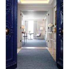 Potomac Interiors on Instagram: Gorgeous blue doors #interior #instagram #home #decor #design...