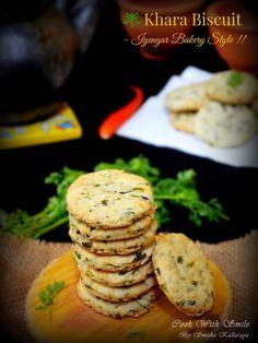 IYENGAR BAKERY KHARA BISCUIT / MASALA BISCUIT / SAVORY COOKIES RECIPE | Cook With Smile #cookies #biscuit #egglessbaking #egglesscookies