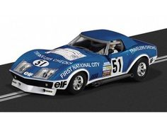 The Scalextric Chevrolet Corvette Stringray L88 is a slot car from the Scalextric Rally and Road car range.