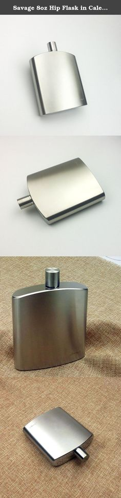 Capable What You Learn Today Can Change Future Round Stainless Steel 5oz Hip Flask Kitchen, Dining & Bar Bar Tools & Accessories