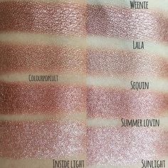 "6,549 Likes, 56 Comments - DUPETHAT (@dupethat) on Instagram: ""Loving these comparisons of @colourpopcosmetics Weenie (from the @kathleenlights Where the Night is…"""