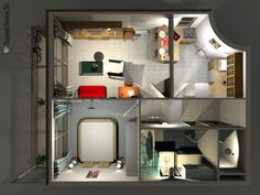 Sweet Home 3D 4.6 for Mac OS X Sweet Home 3D is a free interior design application that helps you draw the plan of your house, arrange furniture on it and visit the results in 3D. #interiordesign #homedecor