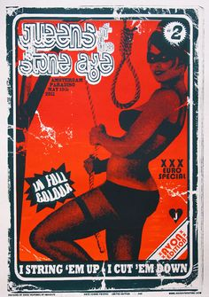 Queens of the Stone Age flyer #art #music #illustration
