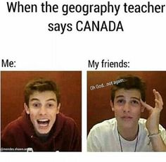 THIS HAPPENED YESTURDAY (11/29/16) WE WERE LOOKING AT A MAP OF THE GREAT LAKES AND TORONTO CANADA IS RIGHT THERE AND I WAS LIKE OMG MY BABY