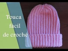 Gorro de Crochê Ponto Arroz | Tam teen e Adulto | Professora Simone - YouTube Crochet Cocoon, Crochet Cap, Chunky Crochet, Crochet Beanie, Easy Crochet, Knitted Hats, Kids Crochet, Crochet Baby Bonnet, Baby Boy Crochet Blanket