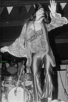 "It is about 330 miles from Port Arthur, Texas to Lewisville, TX. On Aug, 30, 1969, a young lady from Port Arthur made it to Lewisville. Janis Joplin was one of the headliners on the first day of the Texas International Pop Festival, which was held in Lewisville. It was just 2 weeks after Woodstock and Janis was the ""Pearl of Texas"". This is a picture of Janis on stage 44 years ago today taken by Steve Campbell."