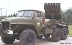 The Grad multiple launch rocket system was produced for a long period of time in large quantity both for the Soviet Army and for export customers. Bm 21 Grad, Soviet Army, Army Vehicles, Tactical Gear, Monster Trucks, 21st, Cold War, History, Heavy Metal