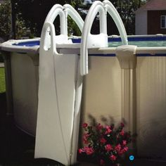 Swimming Pool:Swimming Pool Ladders For Above Ground Pools Ideas  Rectangular Pool Steps Ladder Parts