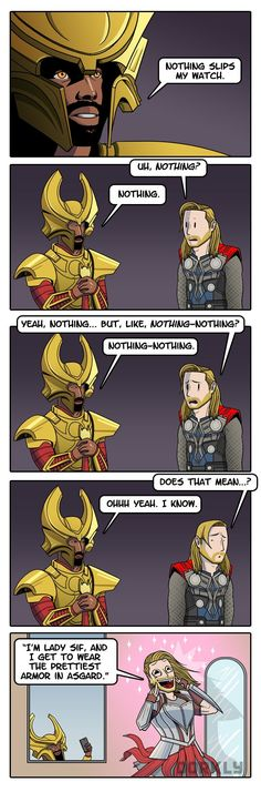 Heimdall: The Nosiest Jerk in Asgard (...and his little smartphone.)