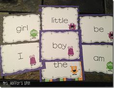 Write the Room sight words