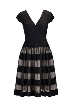 eShakti Women's Tulle stripe surplice poplin dress 2X-20W Regular Black/beige eShakti,http://www.amazon.com/dp/B00IHYNAR6/ref=cm_sw_r_pi_dp_AOgAtb0JK6ZR1SX8