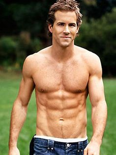 Ryan Reynolds and his abs