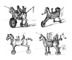 Trojan Horse, Horses, Art, Art Background, Kunst, Performing Arts, Horse, Art Education Resources, Artworks