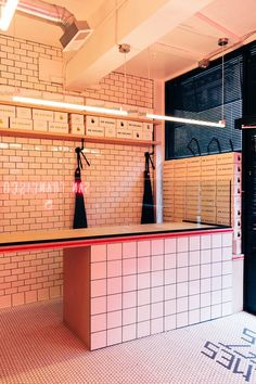 Mr Holmes Bakehouse — San Francisco #tiling #counter #bakery