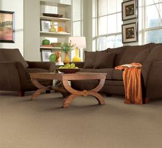 I found this great inspiration from Carpet One for my living space. Check out Carpet One's inspiration gallery for more inspiration.