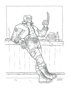 Wolverine by Ramon Villalobos