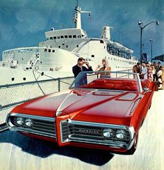 365randomness: 1969 Pontiac Catalina Convertible By: Art Fitzpatrick & Van Kaufman From: Thackerspeed Pontiac Catalina Convertible.
